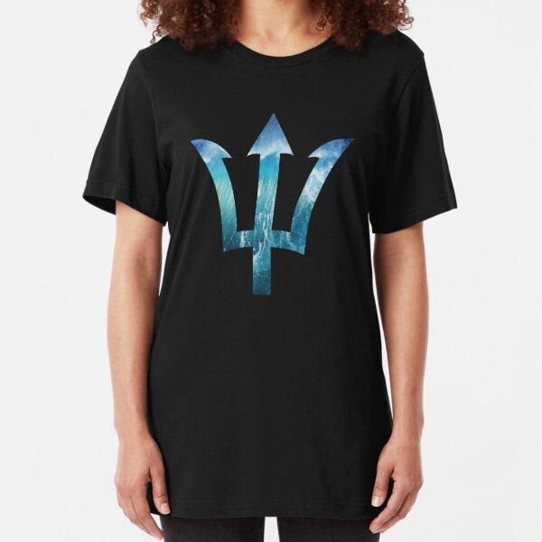 Poseidon Trident Ocean Slim Fit T-Shirt