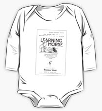 Learning Morse - Light One Piece - Long Sleeve