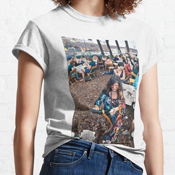 Janis Joplin à Woodstock T-shirt classique