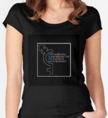 HRT Myself Alt 2 Fitted Scoop T-Shirt