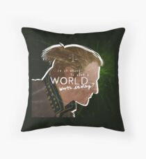 Anders - A World Worth Saving Throw Pillow
