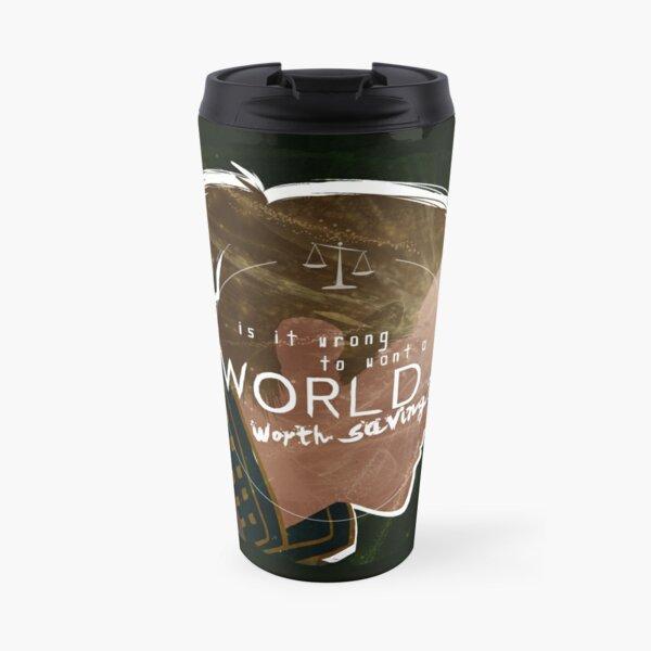 Anders - A World Worth Saving Travel Mug