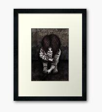 Alone... Framed Print