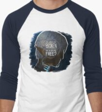 Fenris - The Chains Are Broken Men's Baseball ¾ T-Shirt