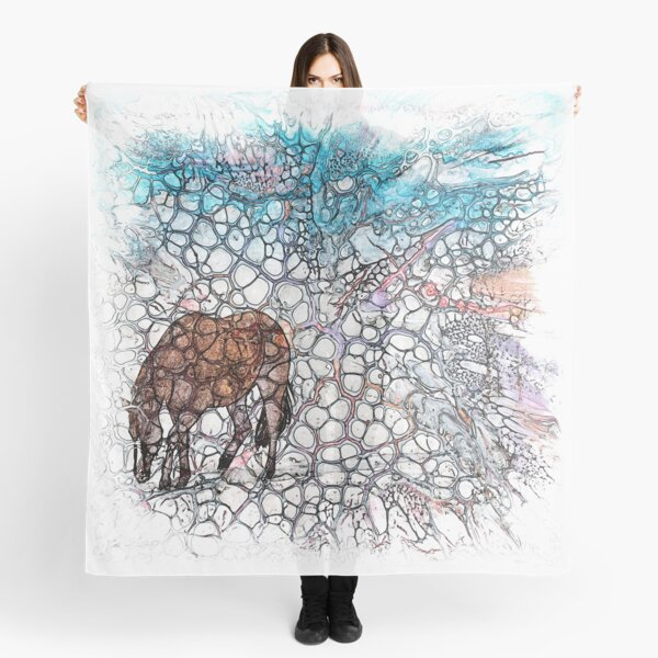 The Atlas of Dreams - Color Plate 178 Scarf