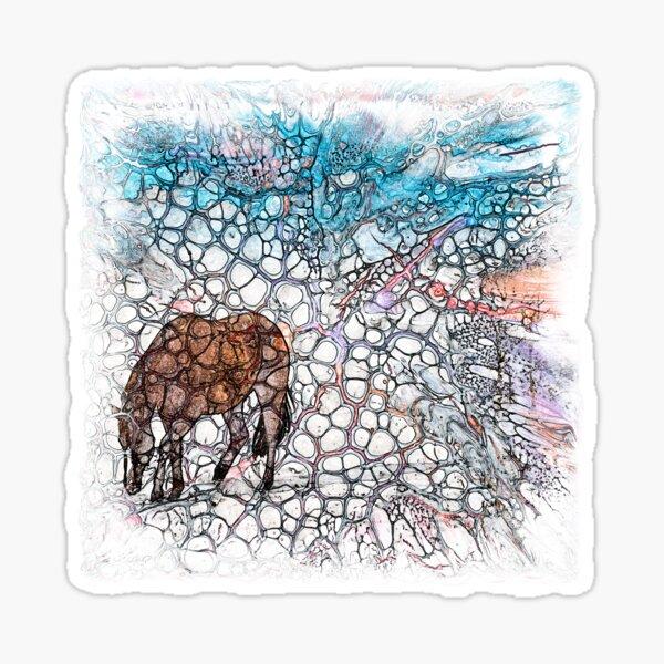 The Atlas of Dreams - Color Plate 178 Sticker