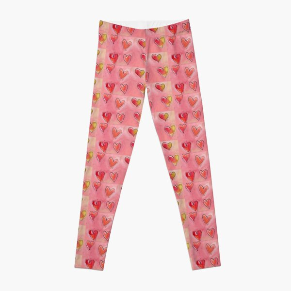 Floating Hearts Leggings