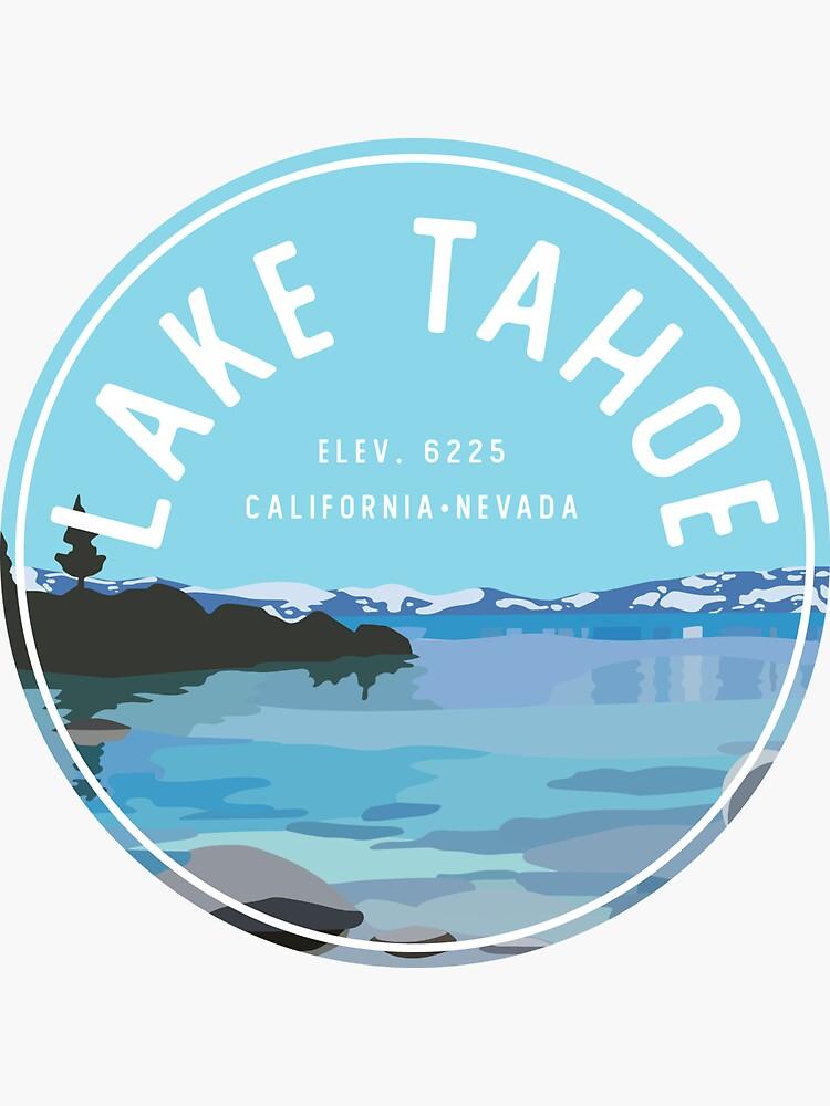 Lake Tahoe Beach  by halleani
