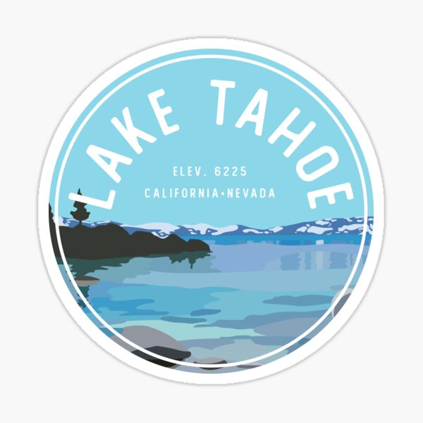 Lake Tahoe Beach  Sticker