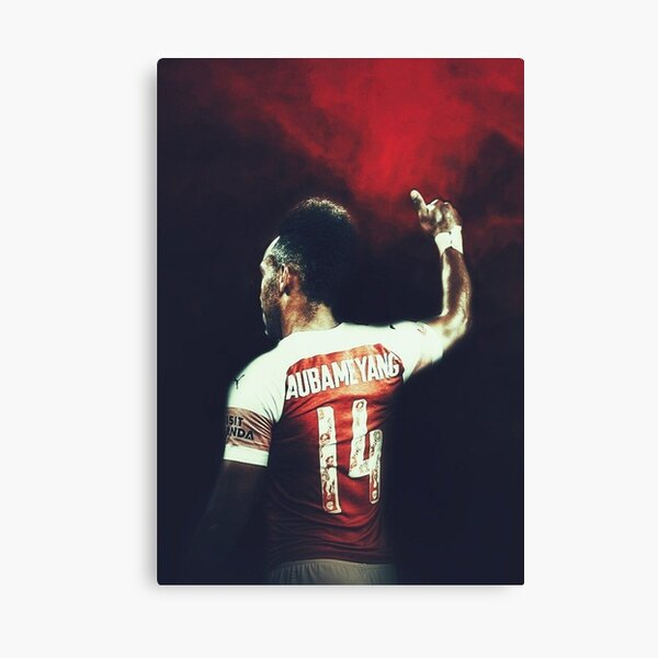 Aubameyang Art Canvas Print