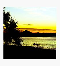 Summer Silhouettes Photographic Print