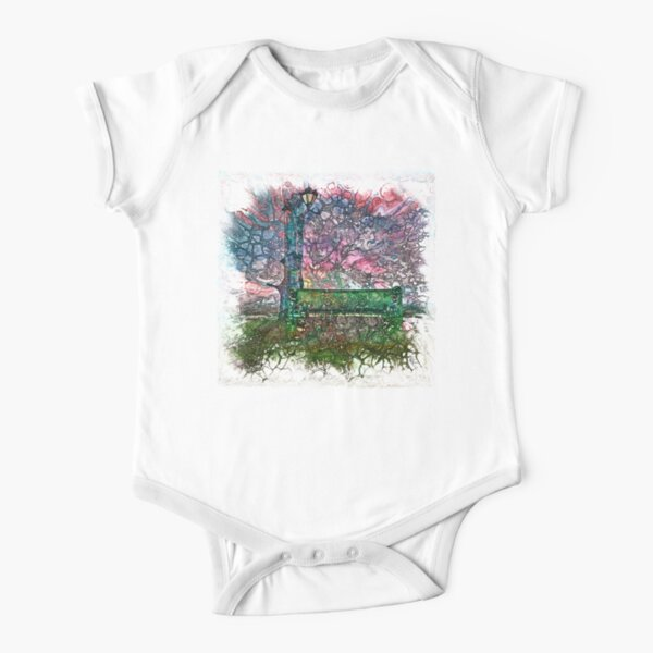 The Atlas of Dreams - Color Plate 182 Short Sleeve Baby One-Piece