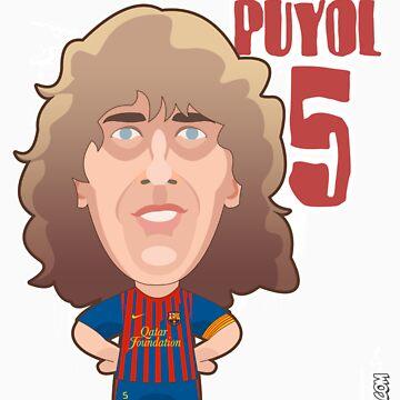 Carles Puyol by alexsantalo