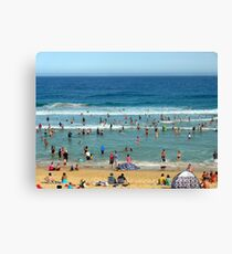 Bar Beach, Newcastle, NSW Canvas Print