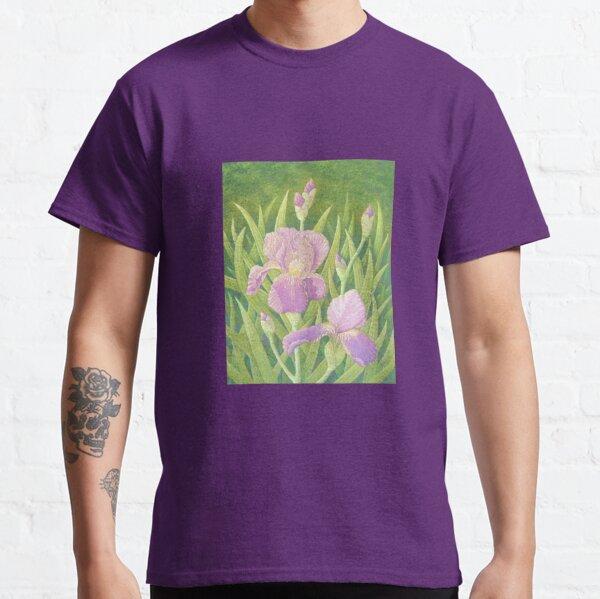 Irises, Wisley Gardens, Surrey Classic T-Shirt