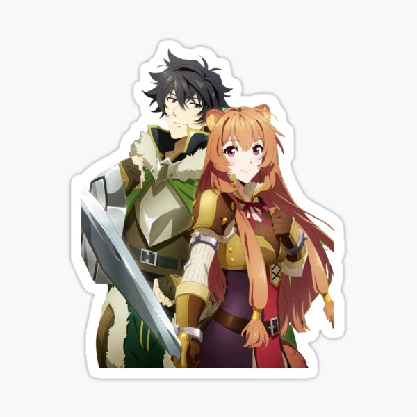 Naofumi and Raphtalia Sticker