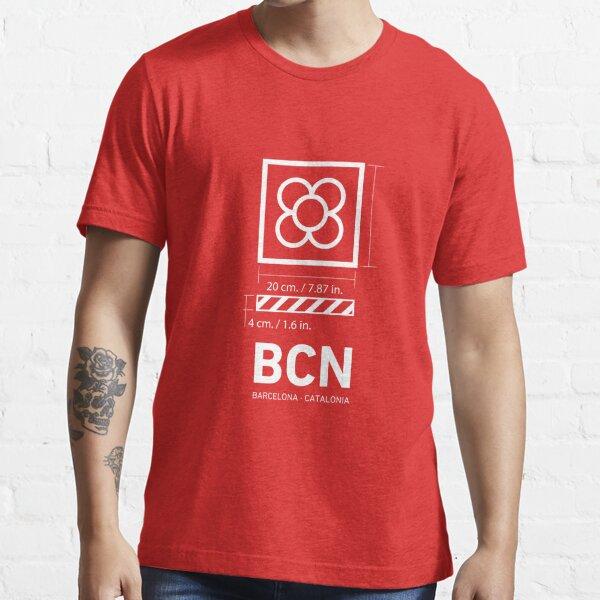 Barcelona (BCN) Panots. Essential T-Shirt