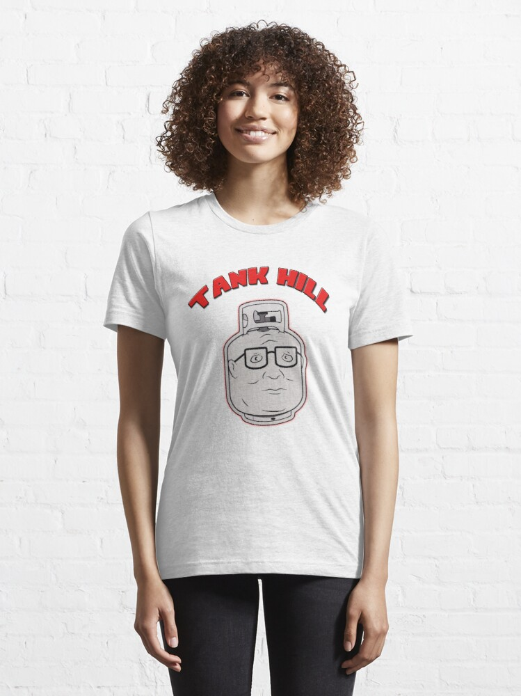 Alternate view of TANK HILL - King Of The Hill  Essential T-Shirt