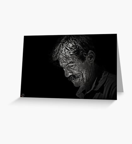 Faces of Venice - The Street Artist Greeting Card