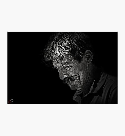 Faces of Venice - The Street Artist Photographic Print