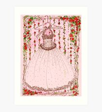 A Gown for Dancing Art Print