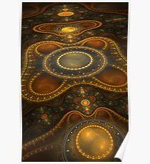 Antique Carpet Poster