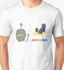 Just a Police Public Call Box Unisex T-Shirt