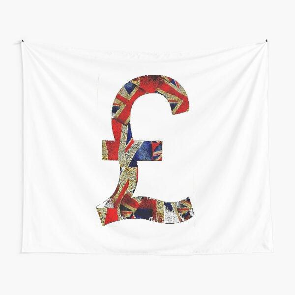 British Pound Tapestry