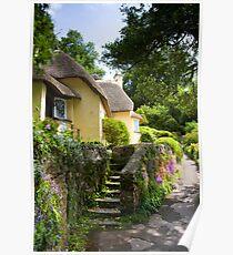 Selworthy Village, Exmoor Poster