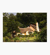 Selworthy Village Shop, Exmoor Photographic Print