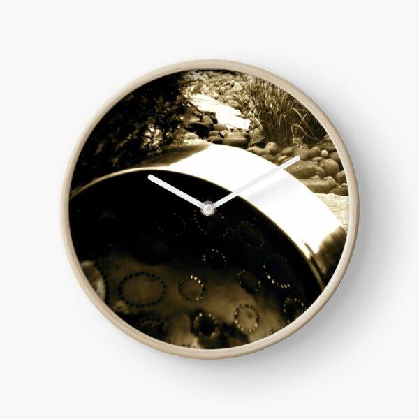 PanArt Steelasophical Caribbean Steel Drum Pan Steelband Clock