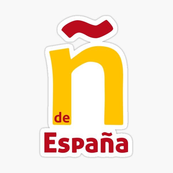 Ñ de España Pegatina