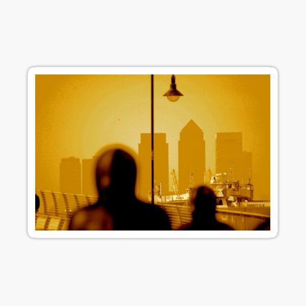 London Docklands The City - Peter Burke Sticker