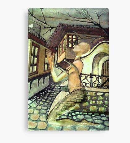 WOMAN OF STONEMASON Canvas Print