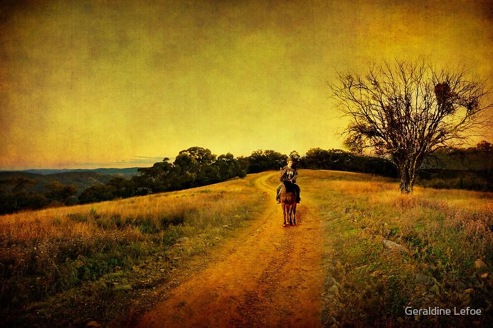 Hill End jackaroo by Geraldine Lefoe