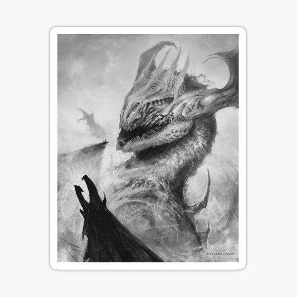 Dragon's Conjuring Sticker