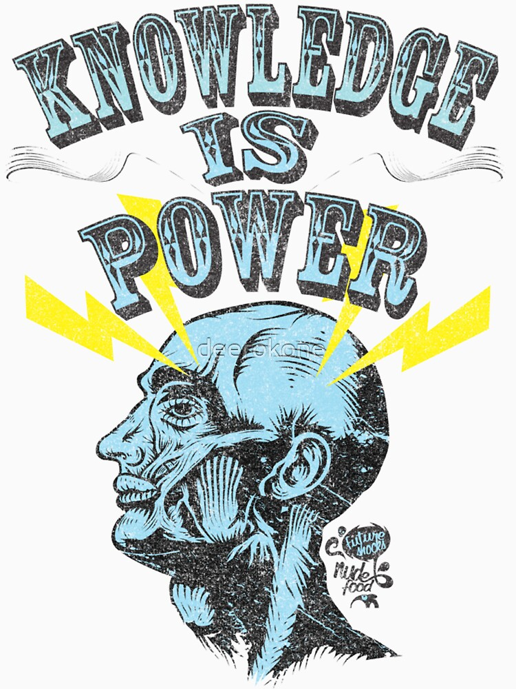 Knowledge is Power | Unisex T-Shirt