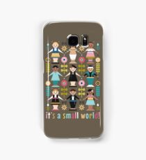 It's a Small World! Samsung Galaxy Case/Skin