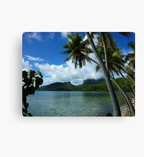 Bora Bora Dreamtime Canvas Print
