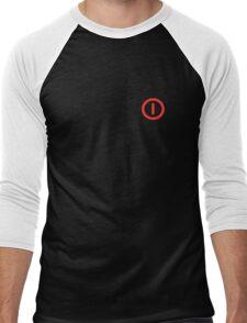 Power Off!  - Logo Men's Baseball ¾ T-Shirt