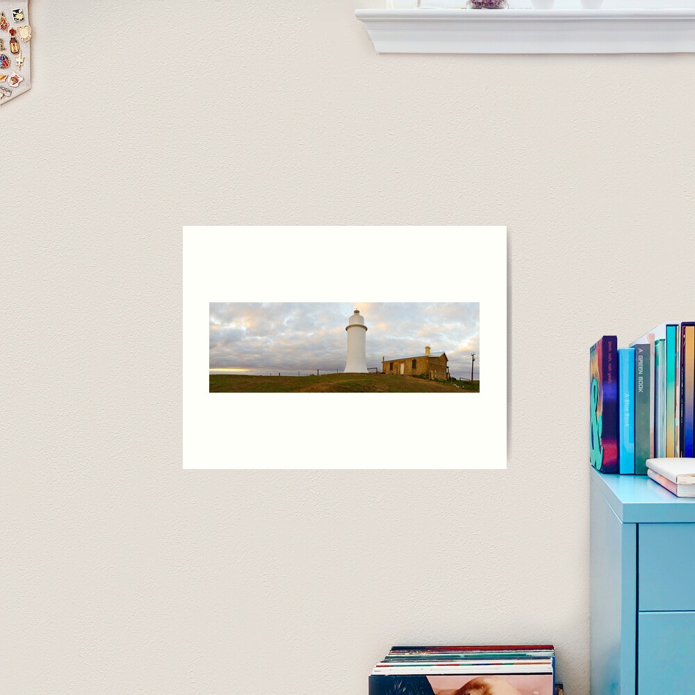 Point Malcom Lighthouse, Lake Alexandrina, South Australia Art Print