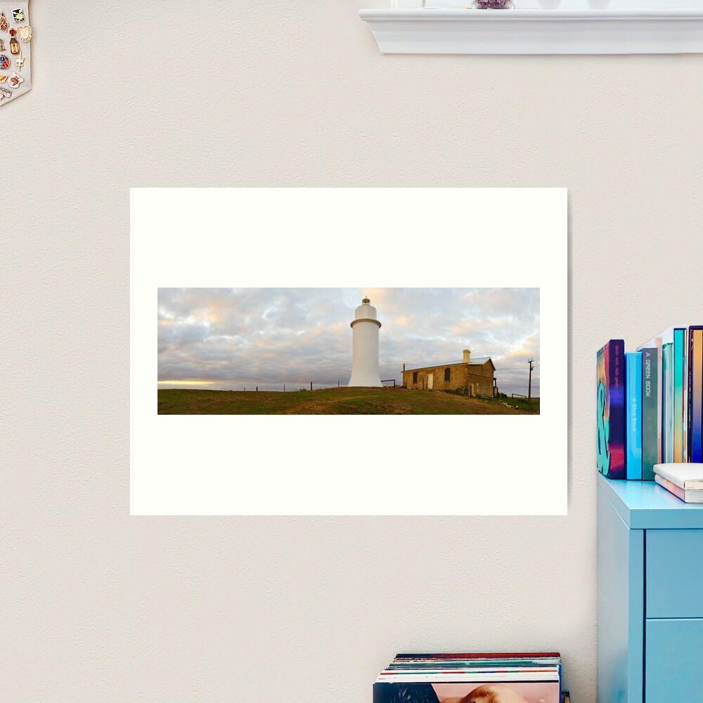Point Malcom Lighthouse, Lake Alexandrina, South Australia Art Print