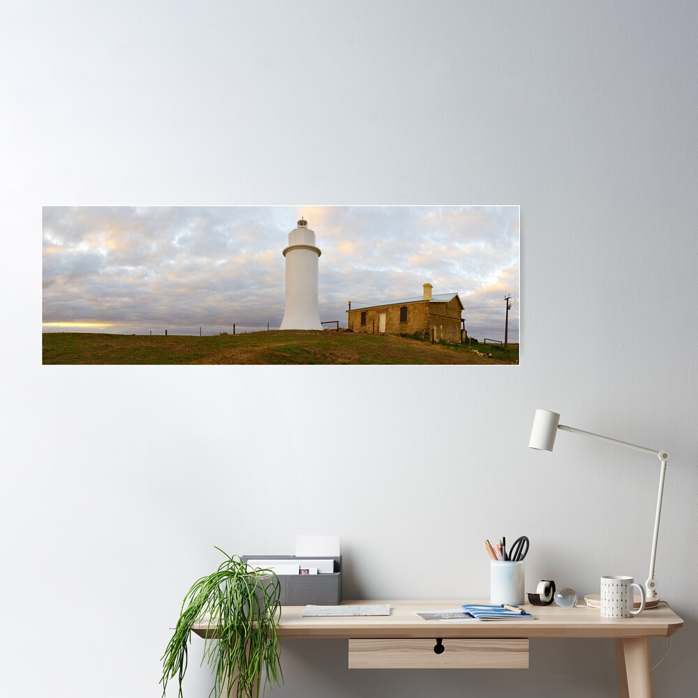 Point Malcom Lighthouse, Lake Alexandrina, South Australia Poster