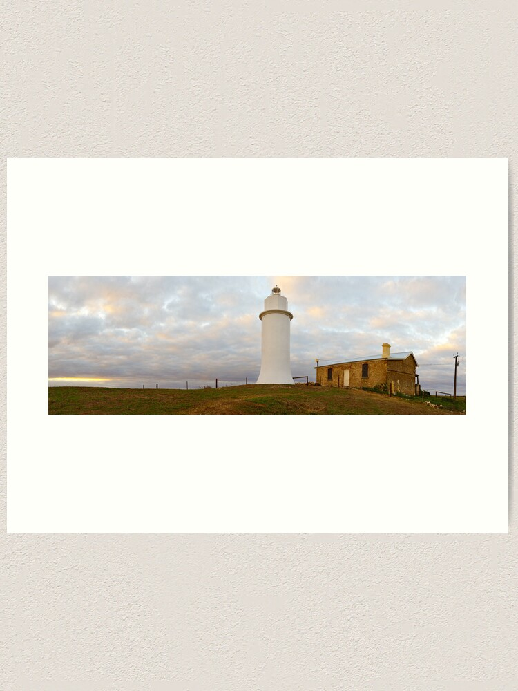 Alternate view of Point Malcom Lighthouse, Lake Alexandrina, South Australia Art Print