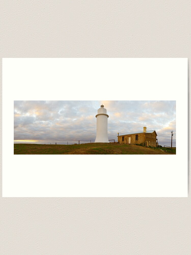 Alternate view of Point Malcom Lighthouse, Lake Alexandrina, South Australia Art Print