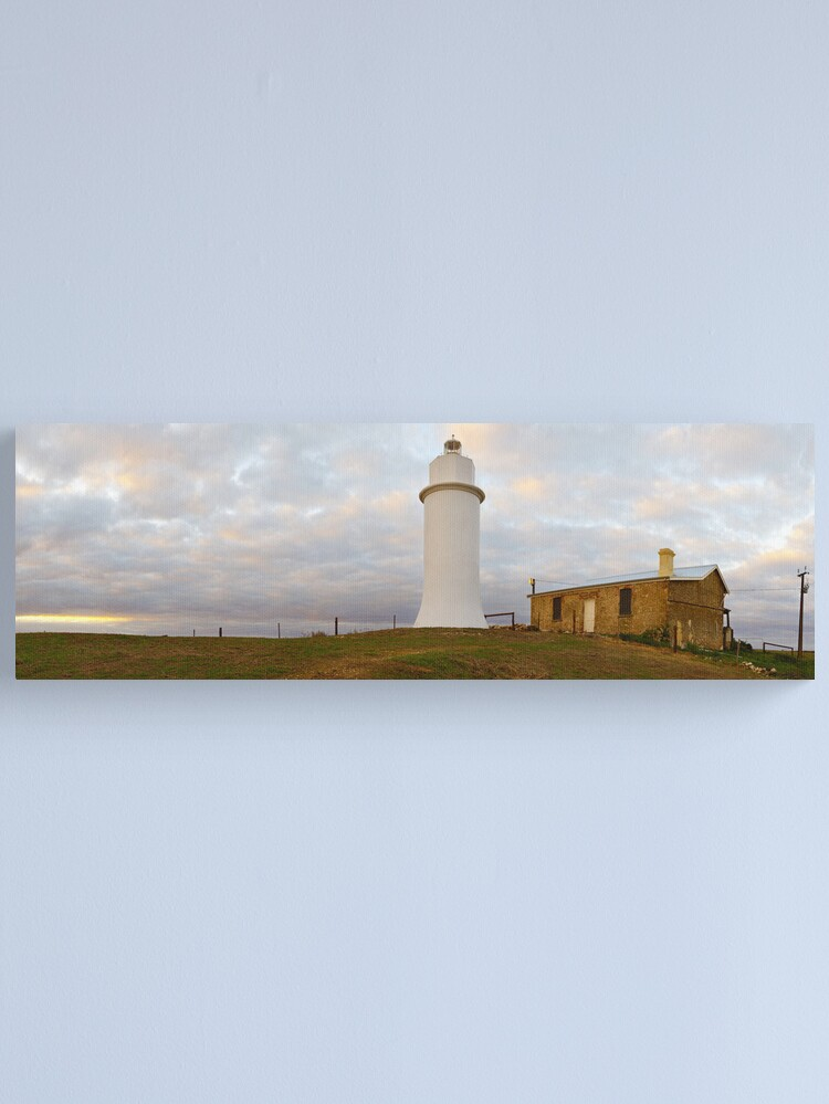 Alternate view of Point Malcom Lighthouse, Lake Alexandrina, South Australia Canvas Print