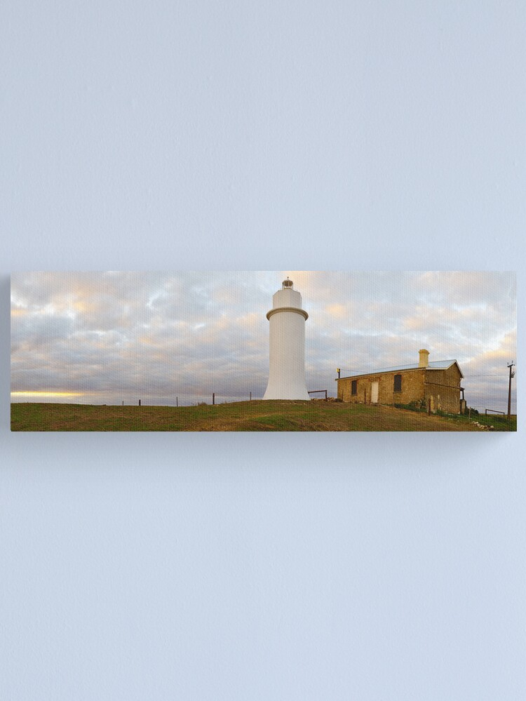 Alternate view of Point Malcom Lighthouse, Lake Alexandrina, South Australia Canvas Print