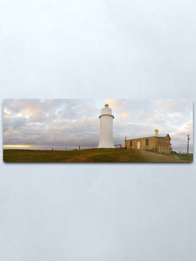 Alternate view of Point Malcom Lighthouse, Lake Alexandrina, South Australia Metal Print