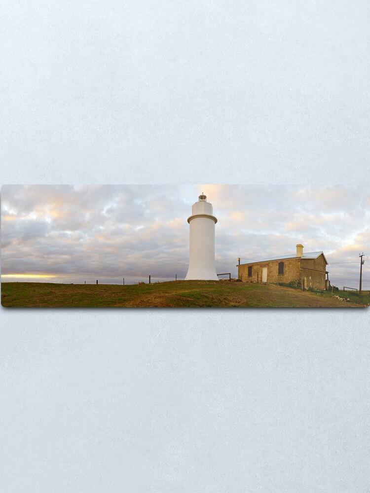 Alternate view of Point Malcom Lighthouse, Lake Alexandrina, South Australia Metal Print