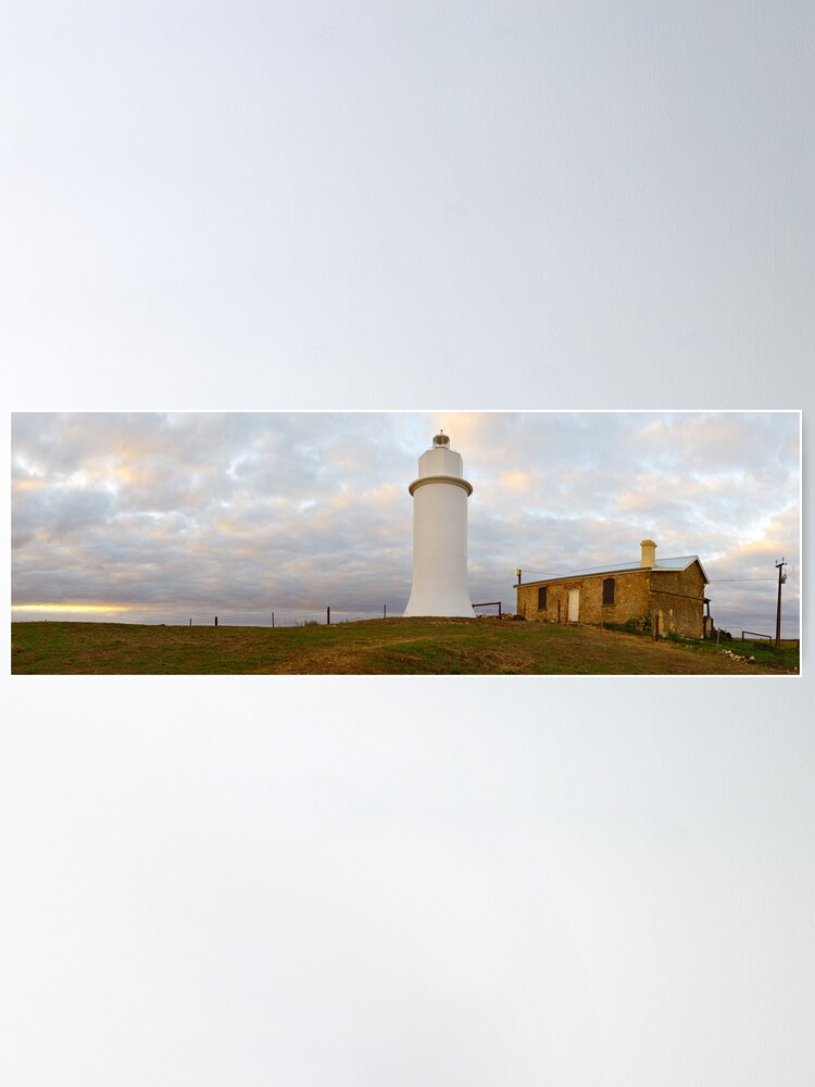 Alternate view of Point Malcom Lighthouse, Lake Alexandrina, South Australia Poster